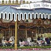 King Arthur Carrousel Fantasyland Disneyland Poster