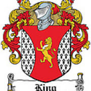 King Coat Of Arms I Dublin  Poster
