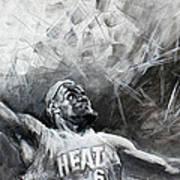 King James Lebron Poster by Ylli Haruni