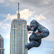 King Kong Comes To Myrtle Beach Poster
