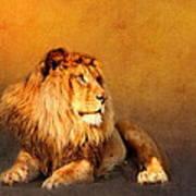 King Leo Poster