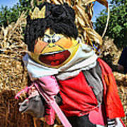 King Of Hearts Scarecrow By Diana Sainz Poster