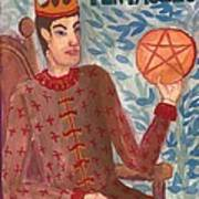 King Of Pentacles Poster