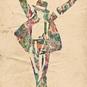 King Of Pop In Concert No 11 Poster