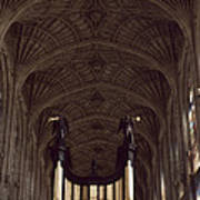King's College Chapel Poster