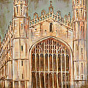 Kings College Chapel Poster
