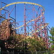 Kings Dominion - Volcano - 01133 Poster