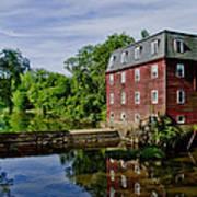 Kingston Mill Near Princeton New Jersey Poster