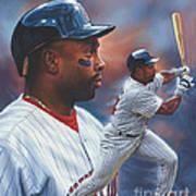 Kirby Puckett Minnesota Twins Poster by Dick Bobnick