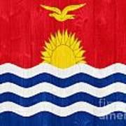 Kiribati Flag Poster