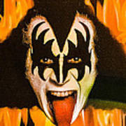 Kiss The Demon Poster