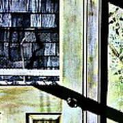 Kitchen Door At Alice Brock's Poster