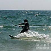 Kite Boarding Fun  Poster