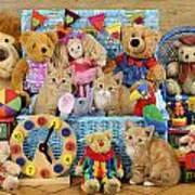 Kitten Dress Box Ck526 Poster