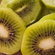 Kiwi For Lunch Poster