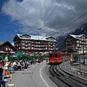 Kleine Schedegg Switzerland Poster