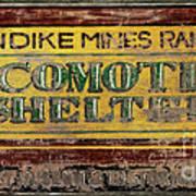 Klondike Mines Railway Poster