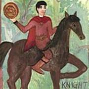 Knight Of Pentacles Poster