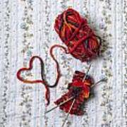 Knitted With Love Poster
