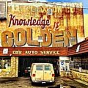 Knowledge Is Golden Poster