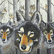 Knoxville Wolves Poster
