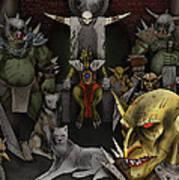 Kobold Throne Room Poster