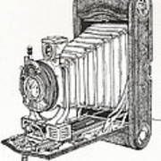 Kodak 3a Autographic Poster