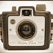 Kodak Brownie Holiday Flash Poster by Mike McGlothlen