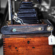Kodak Folding Autographic Brownie 2-a Poster by Kaye Menner