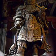 Komokuten Guardian King - Nara Japan Poster