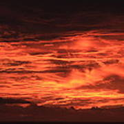 Kona Sky On Fire  Poster