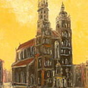 Krakow - Mariacki Church Poster