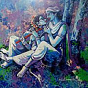 Krishna Radha Poster