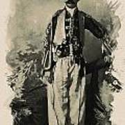 Kurdish Tribal Leader Poster