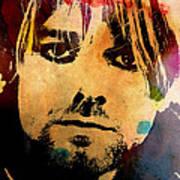 Kurt Cobain 3 Poster