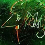Kurt Vonnegut Poster by Michael Kulick