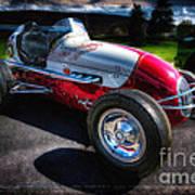 Kurtis Kraft Racer Poster