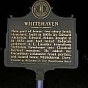 Ky-1754 Whitehaven Poster