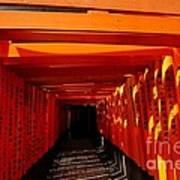 Kyoto Fushimi Shrine-5 Poster