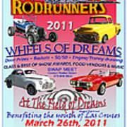 L C Rodrunner Car Show Poster Poster