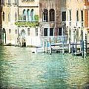 La Canal - Venice Poster
