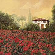 La Casa E I Papaveri Poster