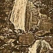 La Coca Falls El Yunque National Rainforest Puerto Rico Prints Rustic Poster