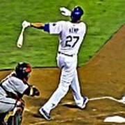 La Dodgers Matt Kemp Poster