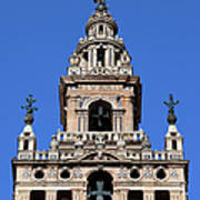 La Giralda Belfry In Seville Poster