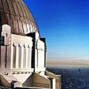 La Griffith Observatory Afternoon Poster