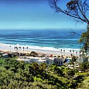 La Jolla Beach Poster