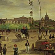 La Place De La Concorde Poster