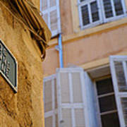 La Provence Windows Poster