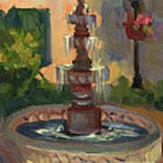 La Quinta Resort Fountain Poster